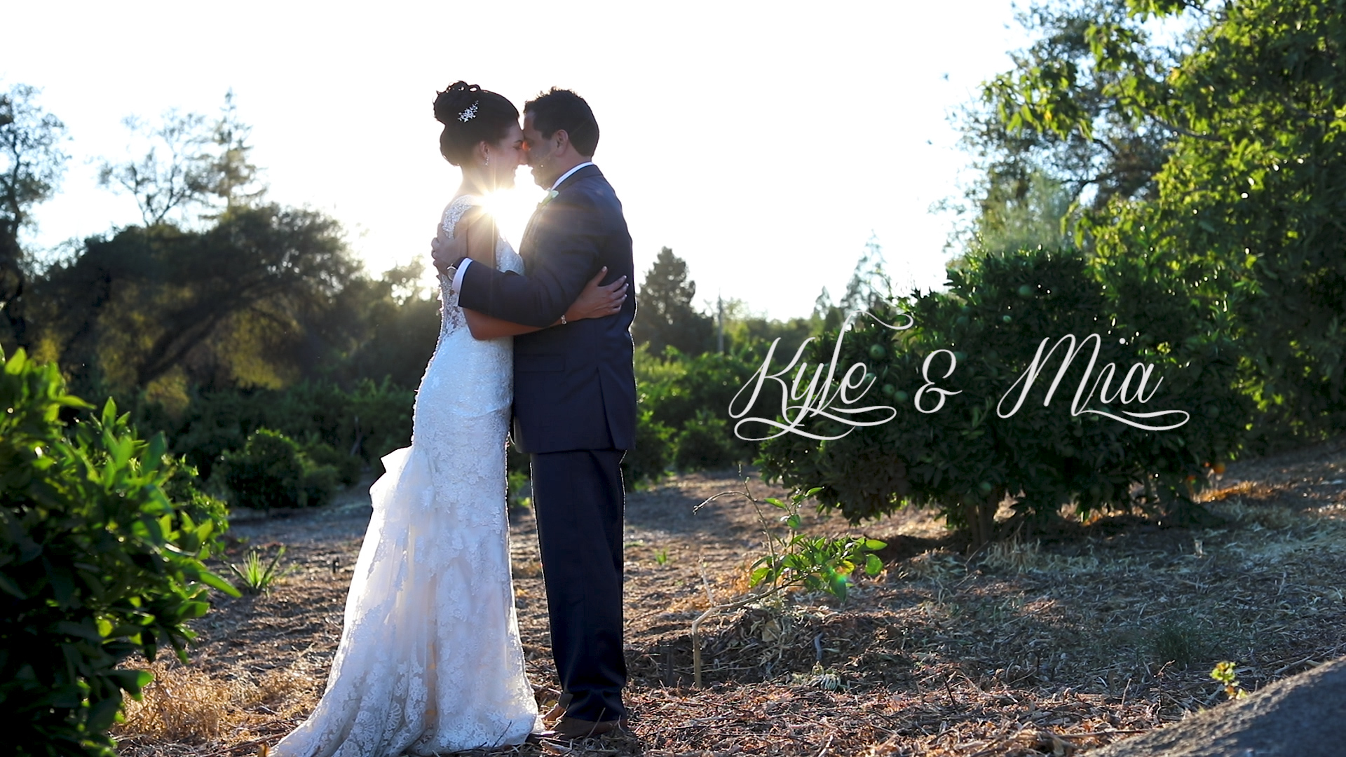 Kyle + Mia | Loomis, California | The Flower Farm