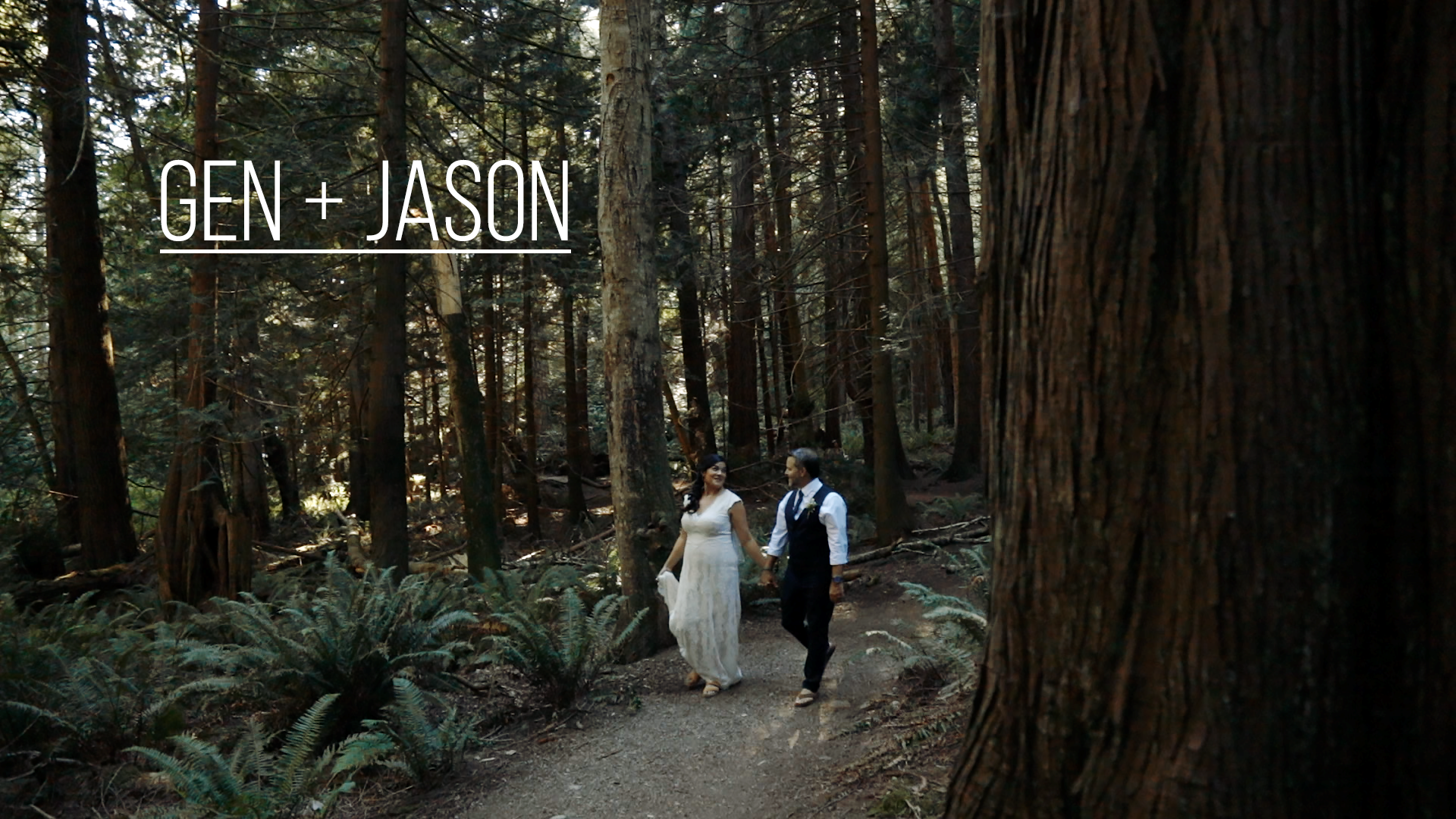 Genevieve + Jason | Sunshine Coast Regional District, Canada | Bakers Beach