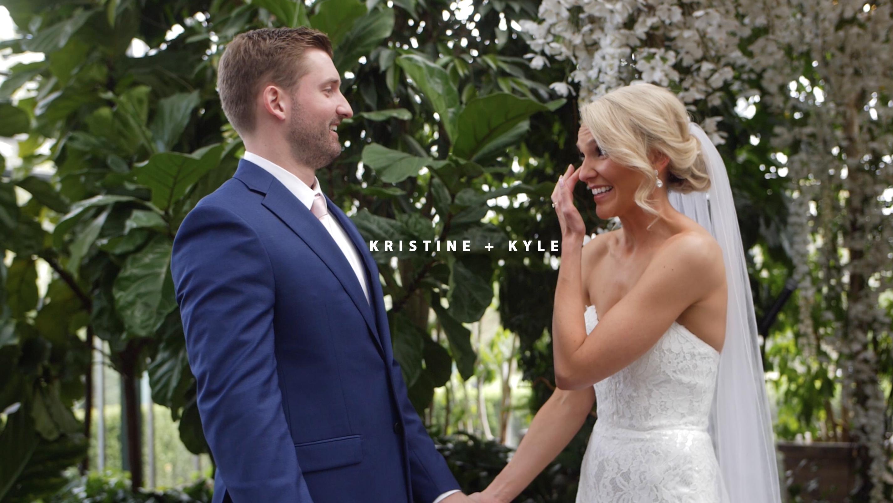 Kristine + Kyle | West Bloomfield Township, Michigan | Planterra Conservatory