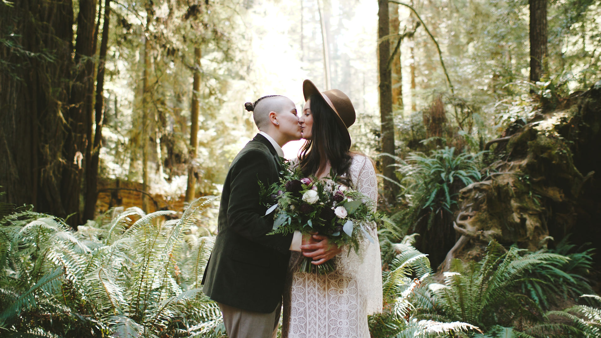 Sydney + Chelsea | Crescent City, California | The Redwoods