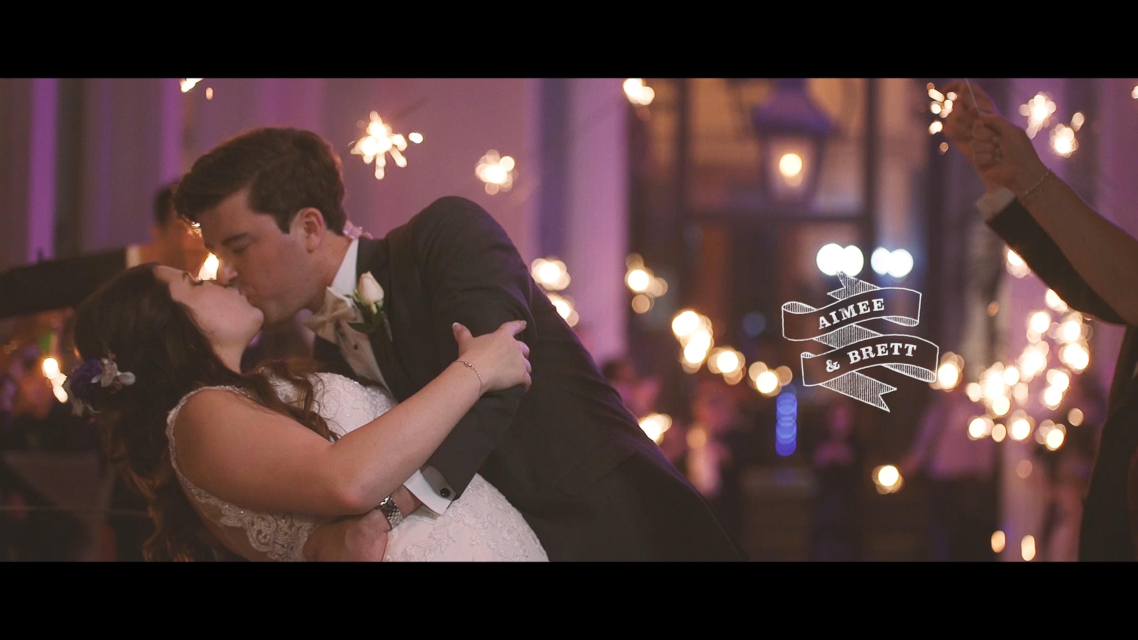 Aimee + Brett | New Orleans, Louisiana | New Orleans Board of Trade
