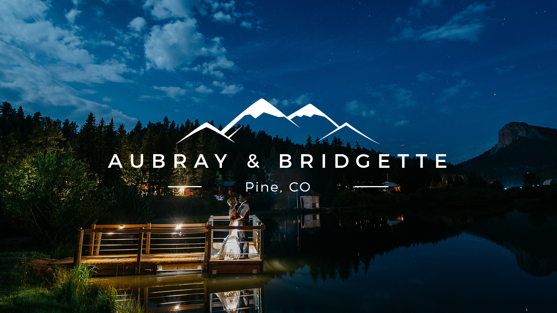 Bridgette + Aubray | Pine, Colorado | Wedgewood Mountain View Ranch