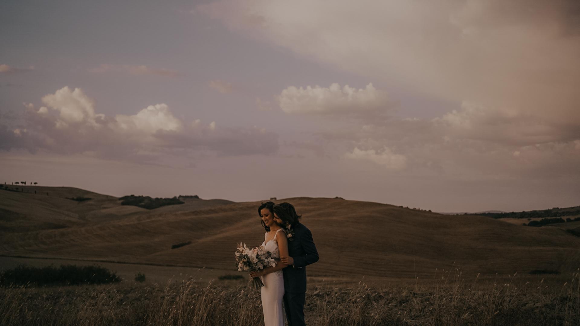 Gila + Francesco | Buonconvento, Italy | Podere Salicotto