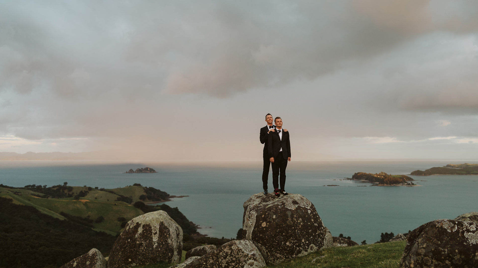Pete + Anthony | Auckland, New Zealand | Mudbrick Winery