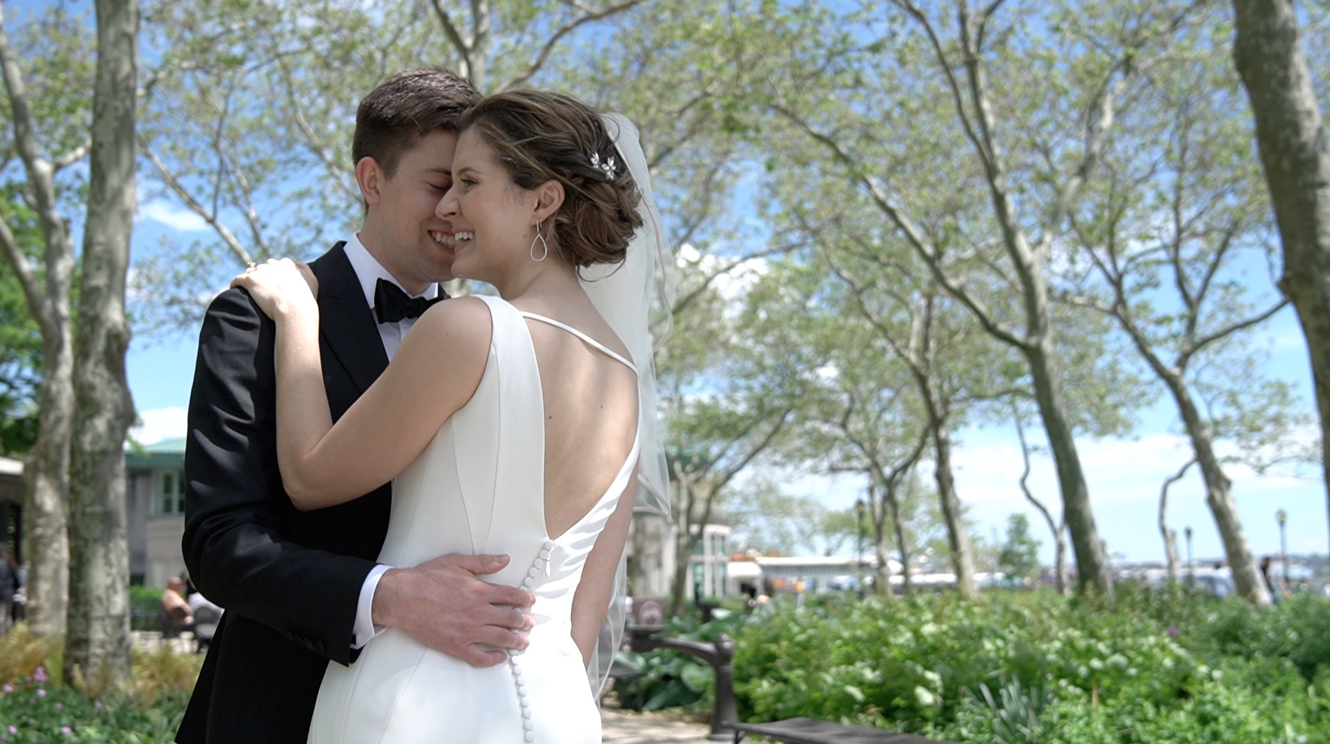 Alison + Michael | New York, New York | Battery Gardens
