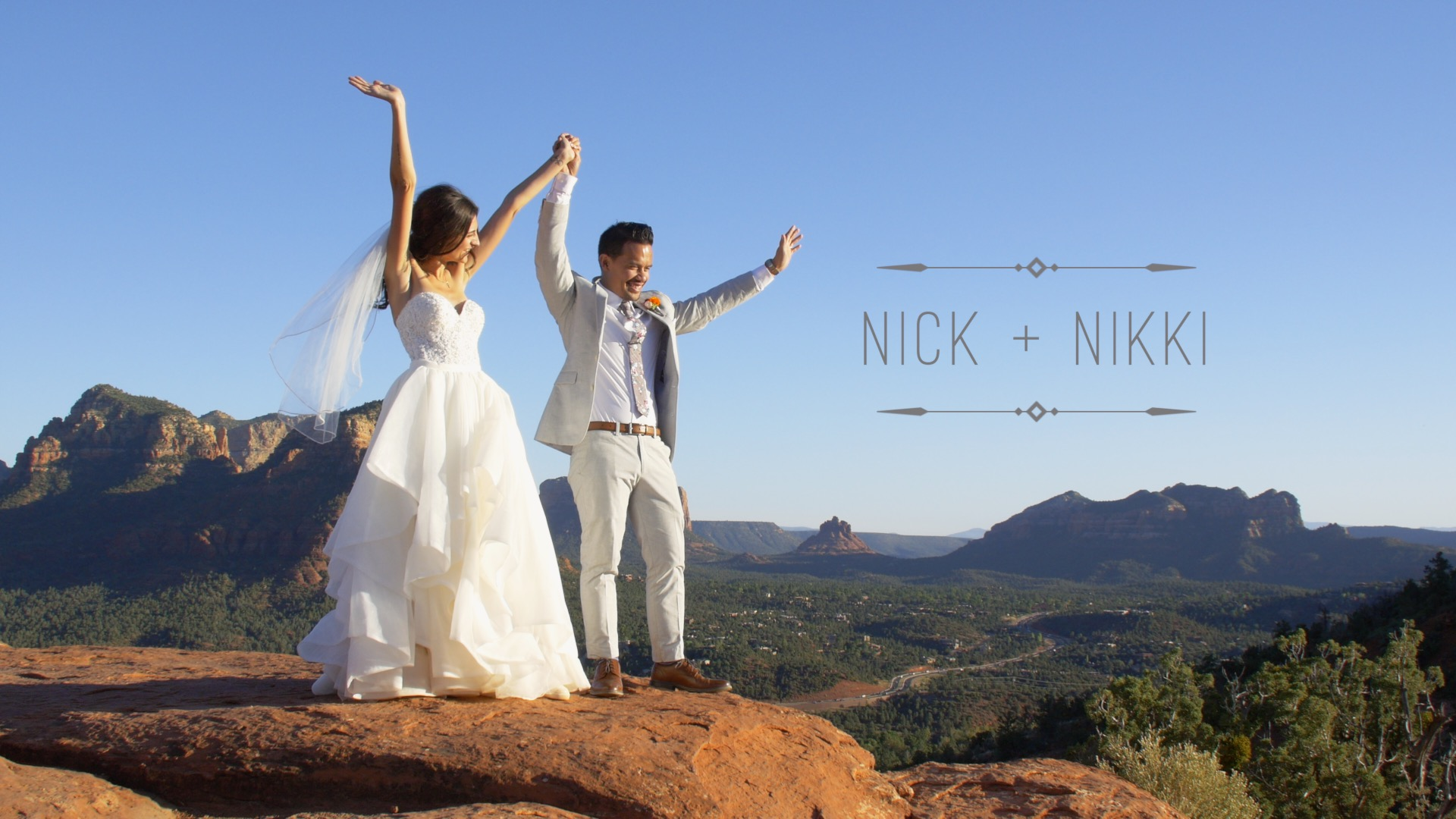Nikki  + Nick | Sedona, Arizona | Sky Ranch Lodge