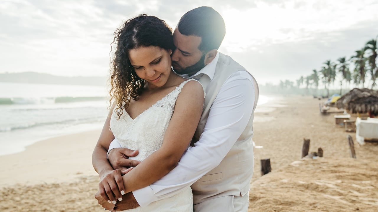 Luis + Luisa | Punta Cana, Dominican Republic | Kukua Beach Club