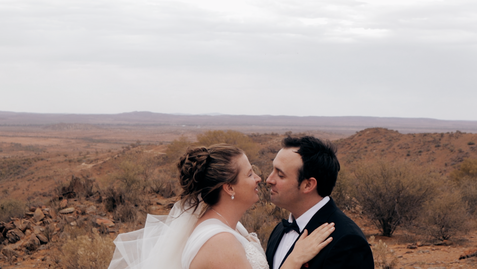 Danielle + Brad | Broken Hill, Australia | The Old Dairy