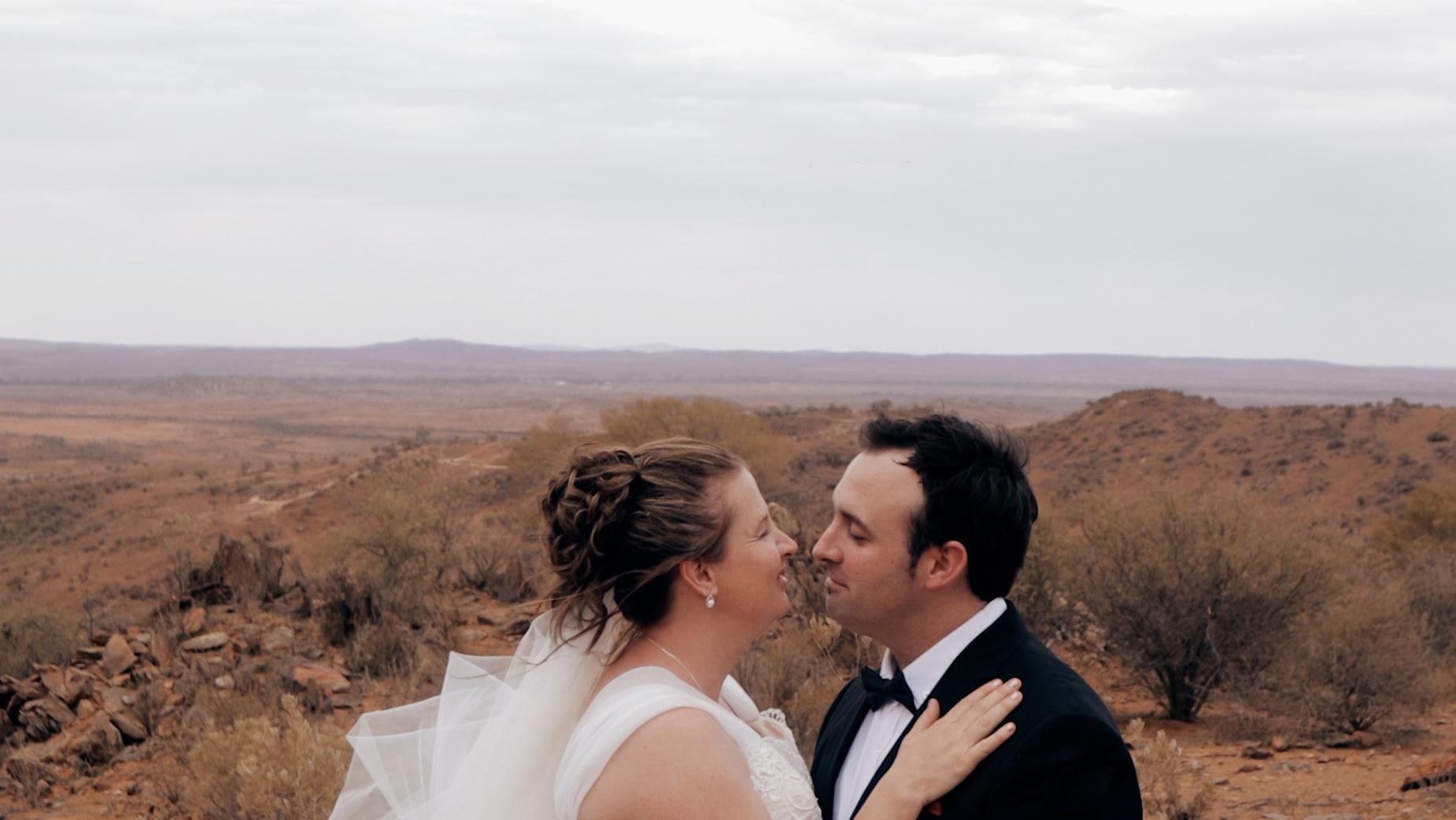 Danielle + Brad | Broken Hill, Australia | The Old Dairy