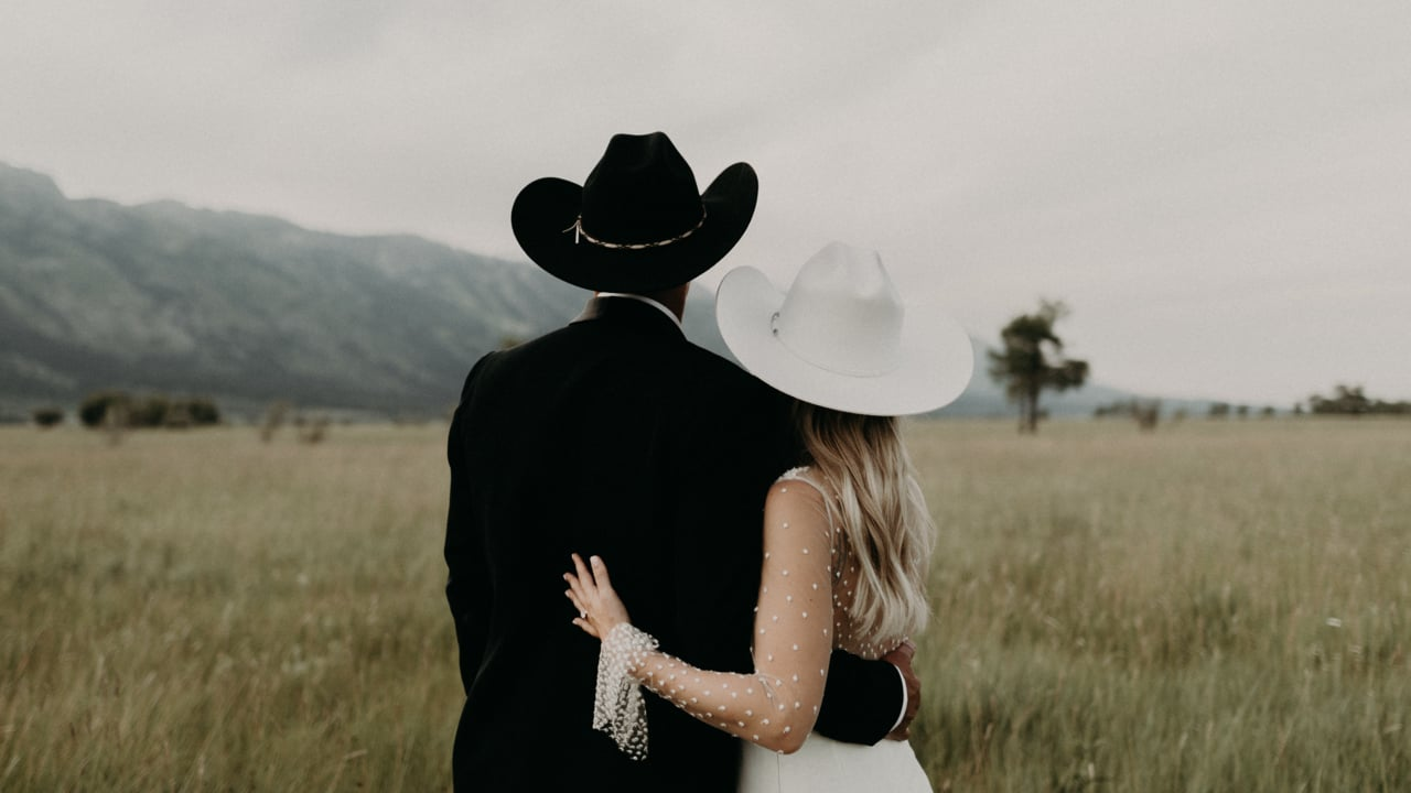 Ashley + Mitch | Jackson, Wyoming | Snake River Ranch