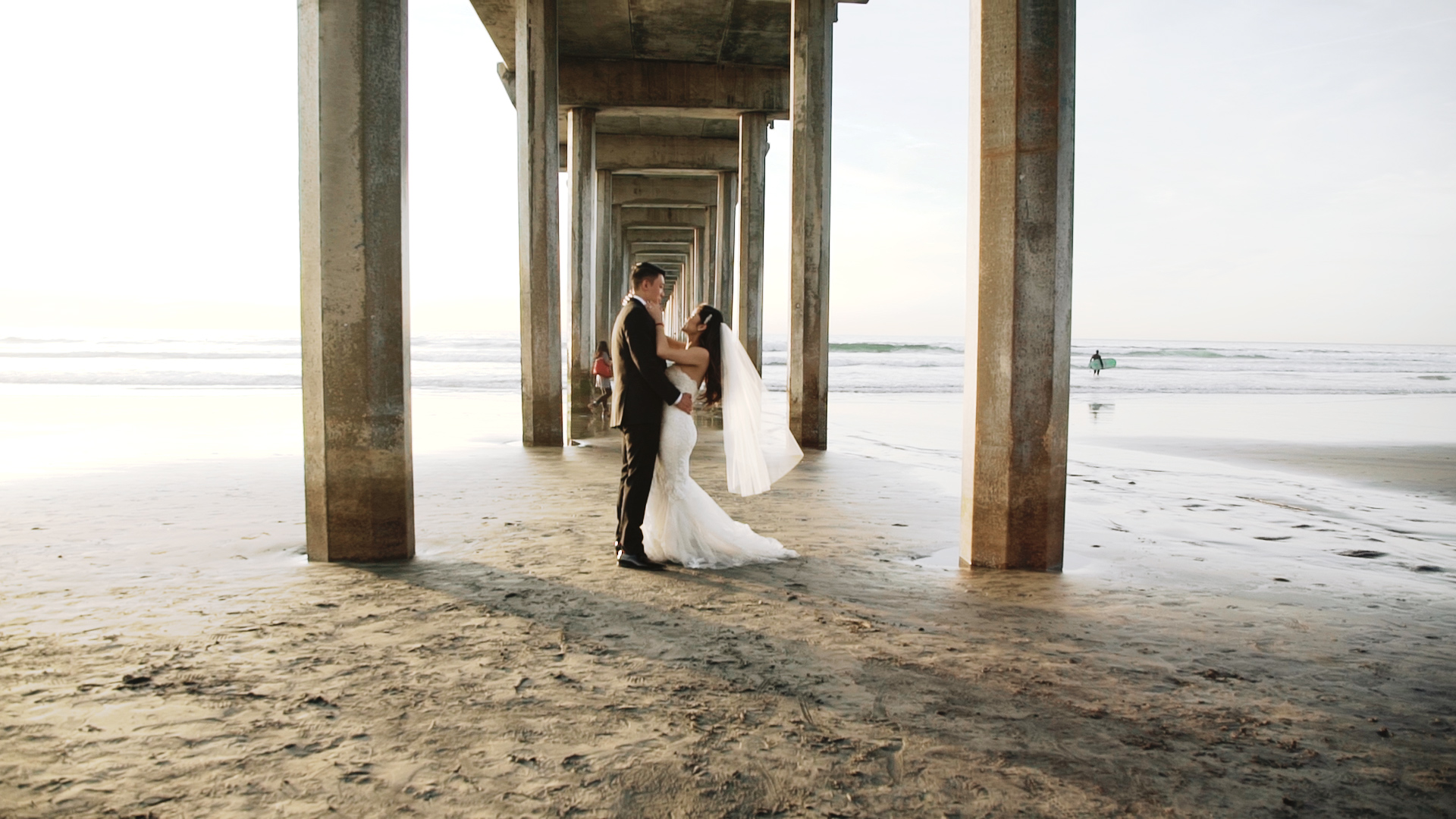 Alex + Jessica | San Diego, California | Scripps Seaside Forum