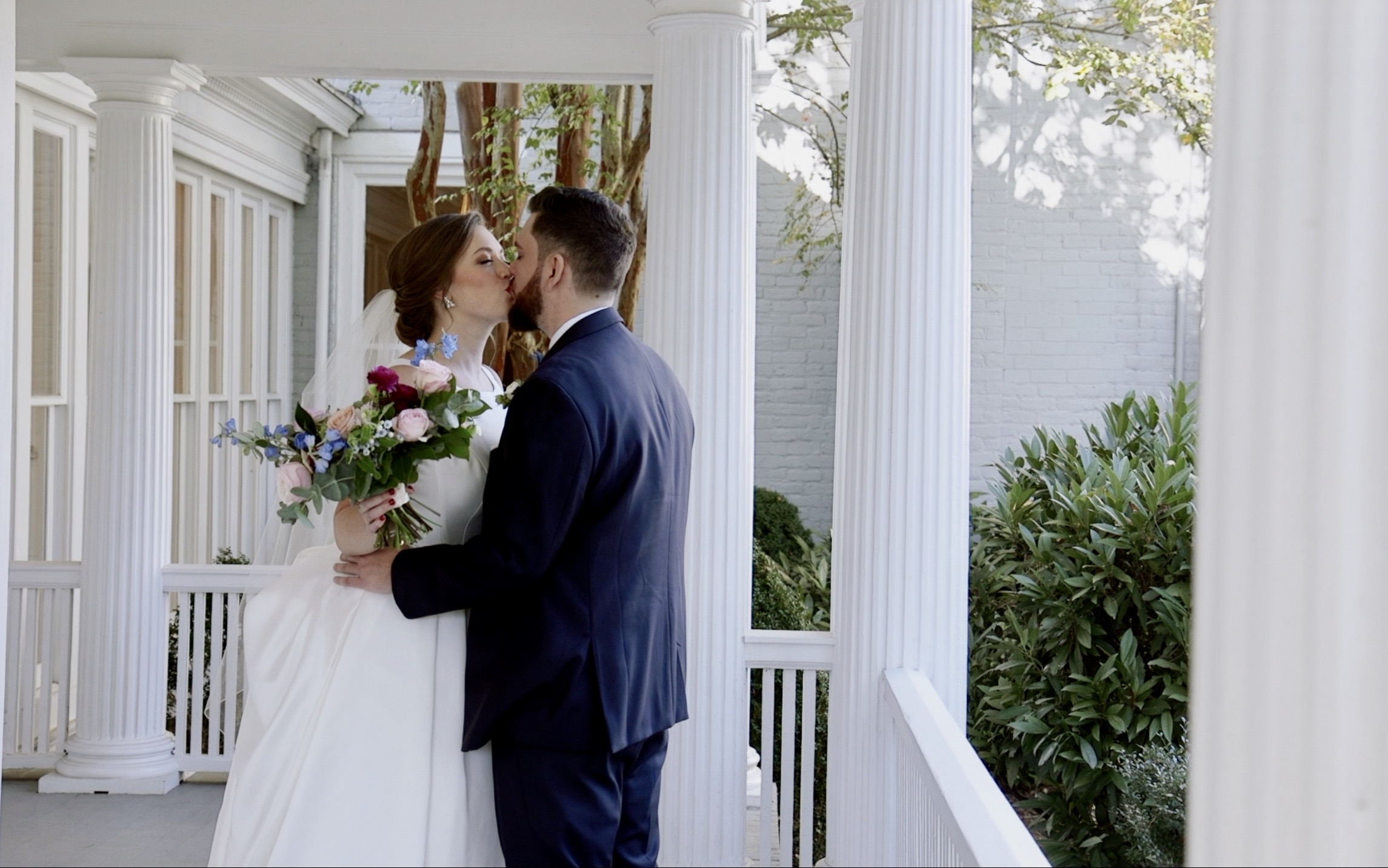 Sarah + Dylan | Greensboro, North Carolina | The McAlister-Leftwich House