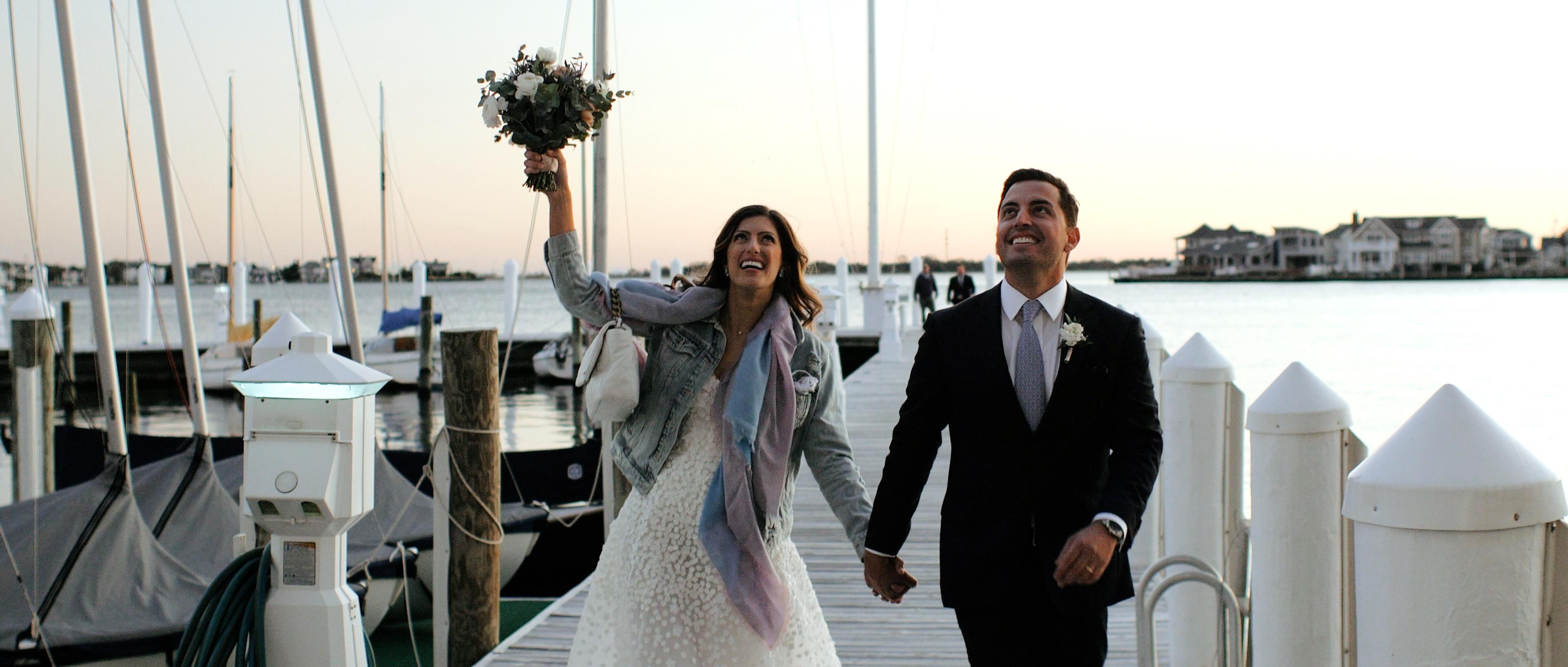 Jessica + Anthony | Bay Head, New Jersey | Bay Head Yacht Club
