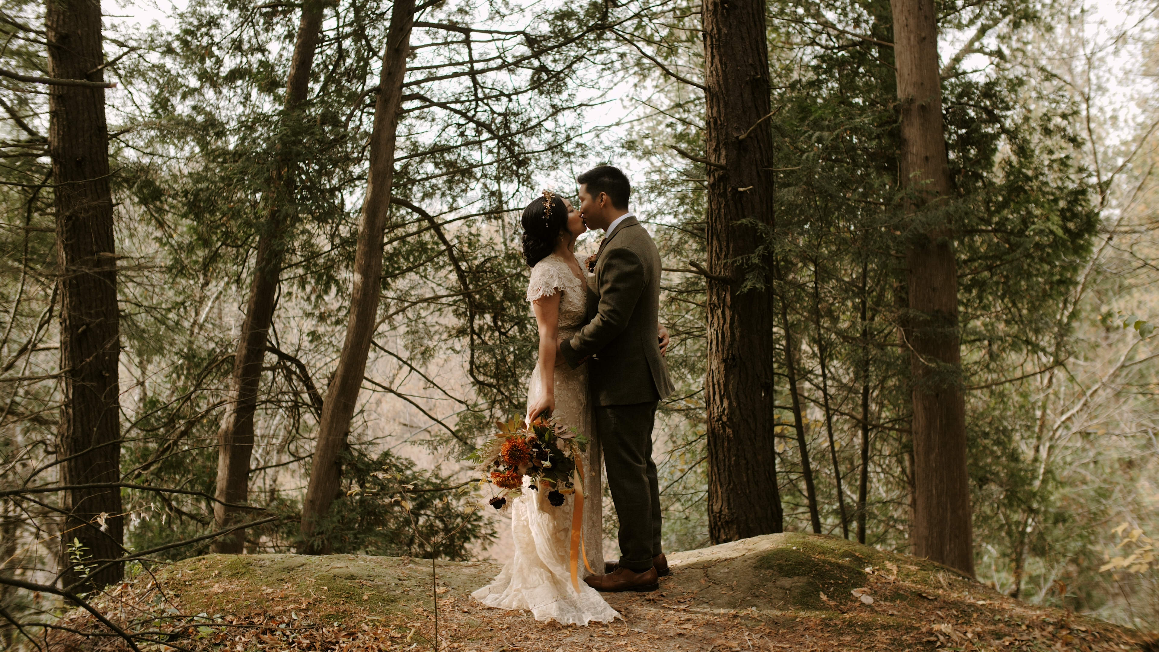 Kyle + Joanna | Vaughan, Canada | McMichael Art Gallery