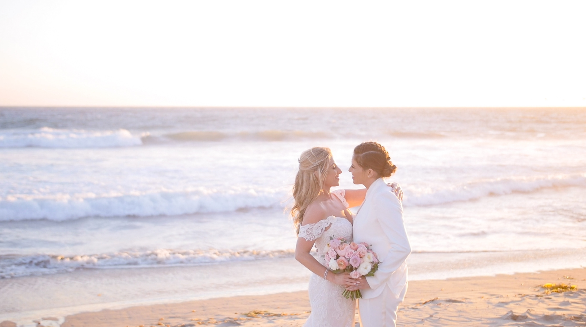 Samantha  + Ashley | Malibu, California | West Malibu Beach Club