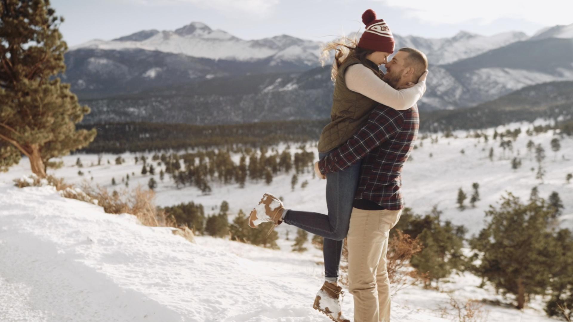 Lindsey + AJ | Estes Park, Colorado | Rocky Mountain National Park