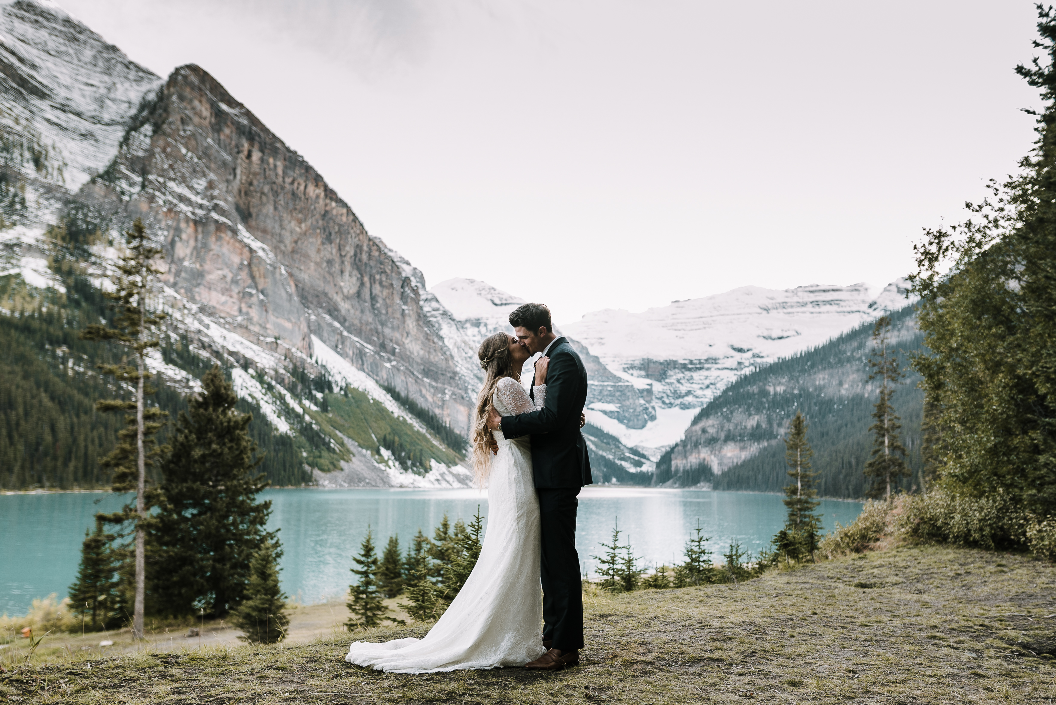 Kristen + Evan | Lake Louise, Canada | Post Hotel