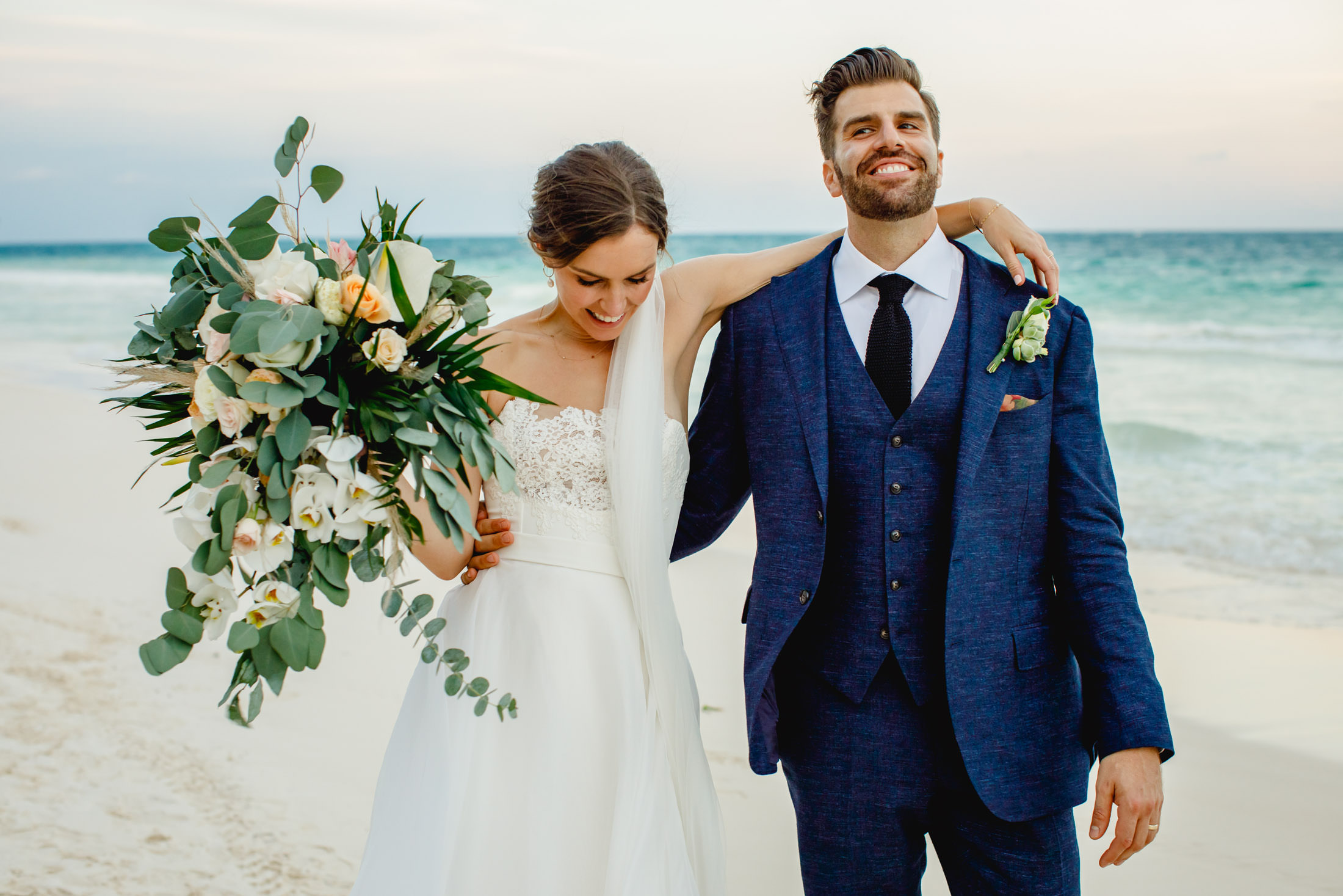 Nicole  + Oren | Tulum, Mexico | Zorba Beach Homes