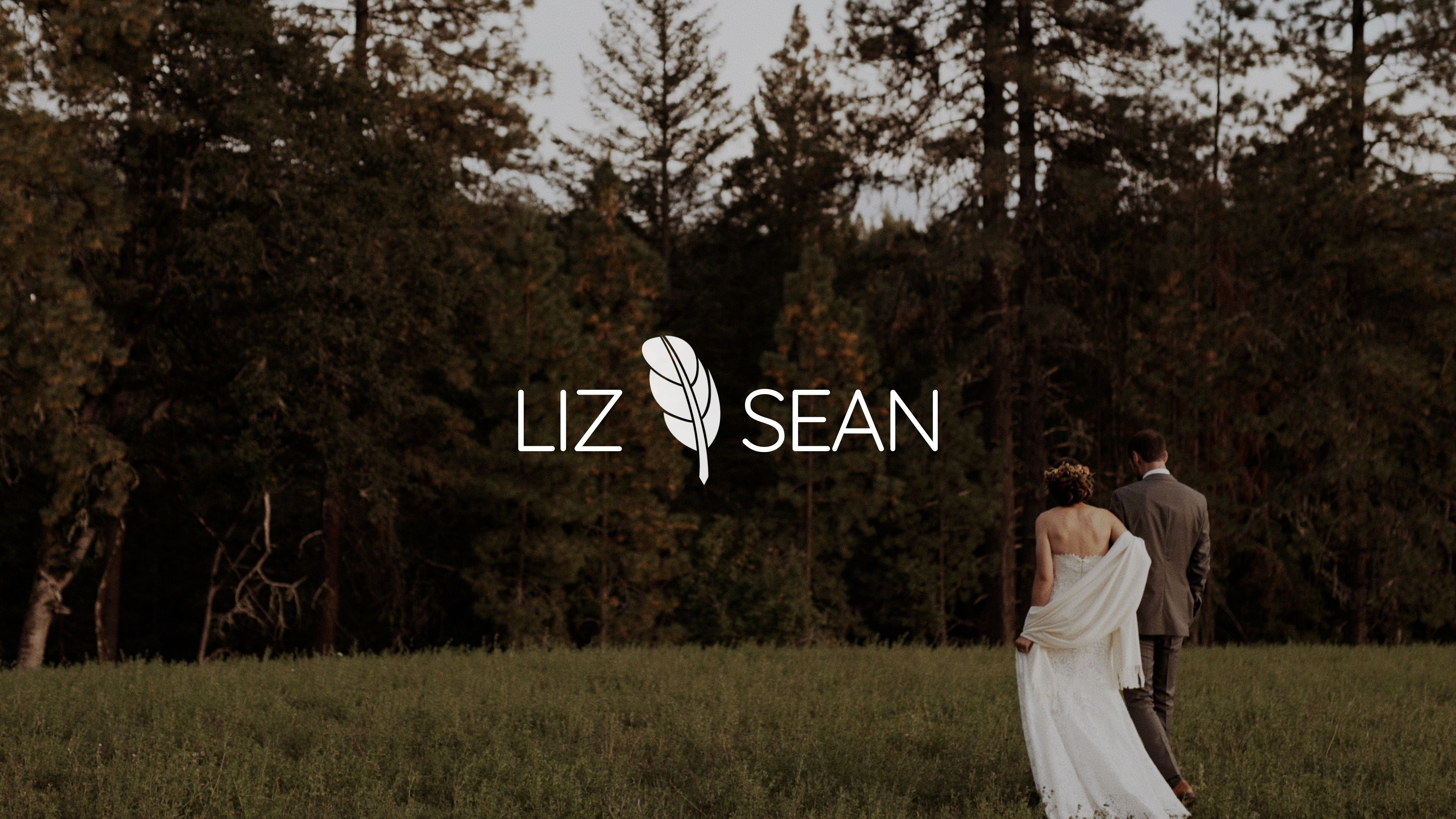 Liz + Sean | White Salmon, Washington | Tin Roof Barn