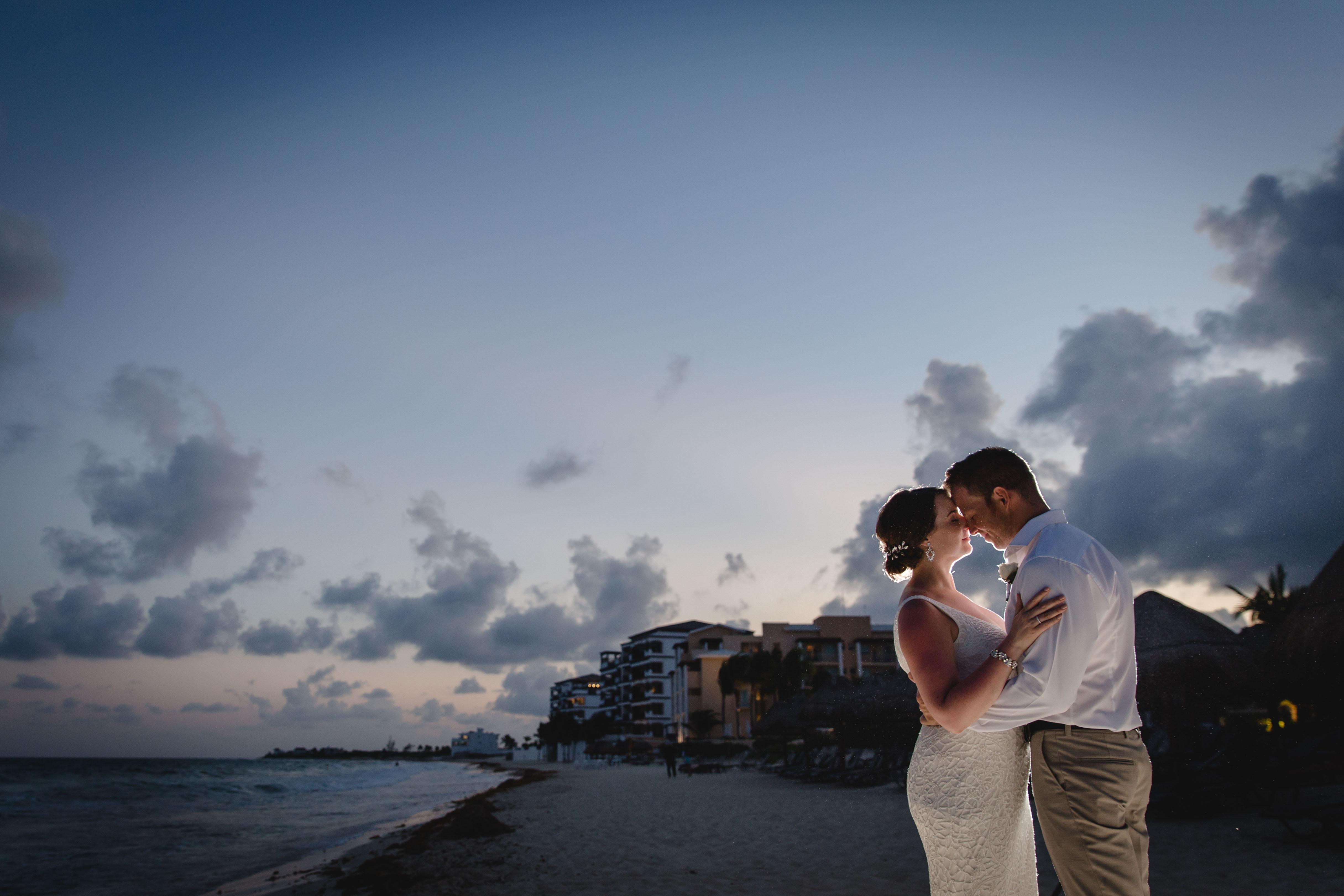 Ashley + Luke | Puerto Morelos, Mexico | Now Jade Riviera Cancun