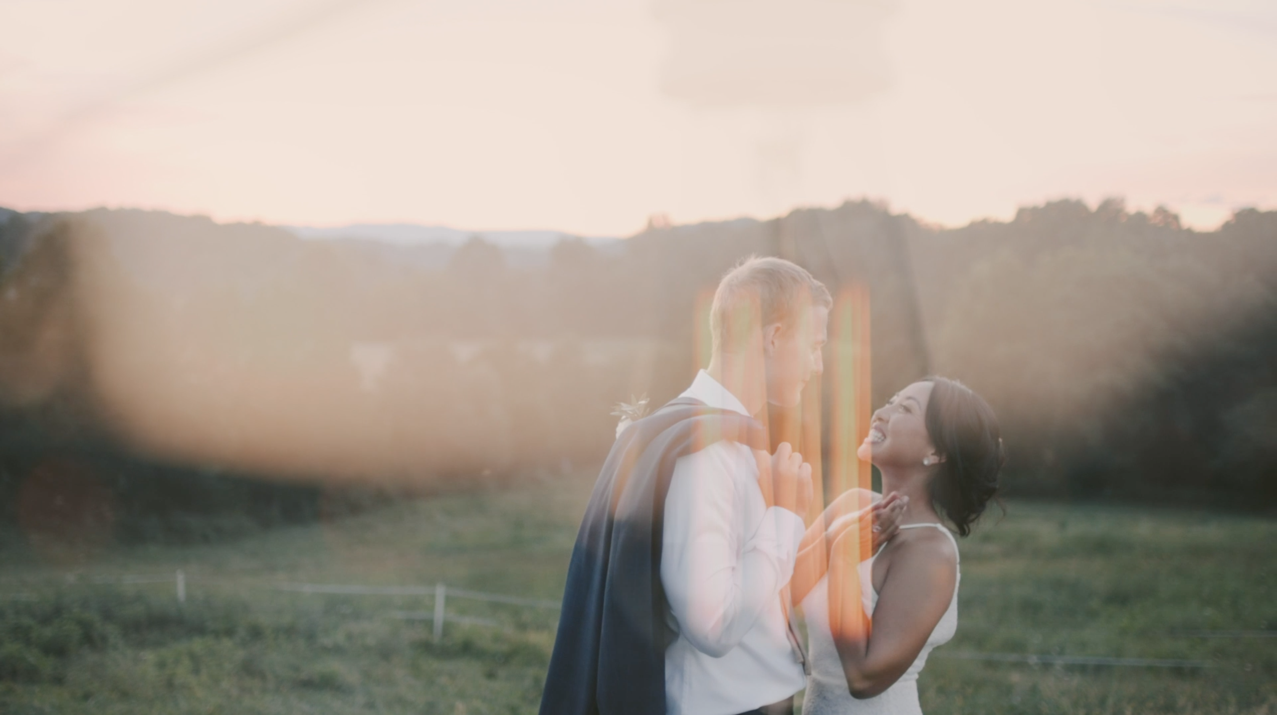 Christine + Andrew | Buchanan, Virginia | Backyard Farm