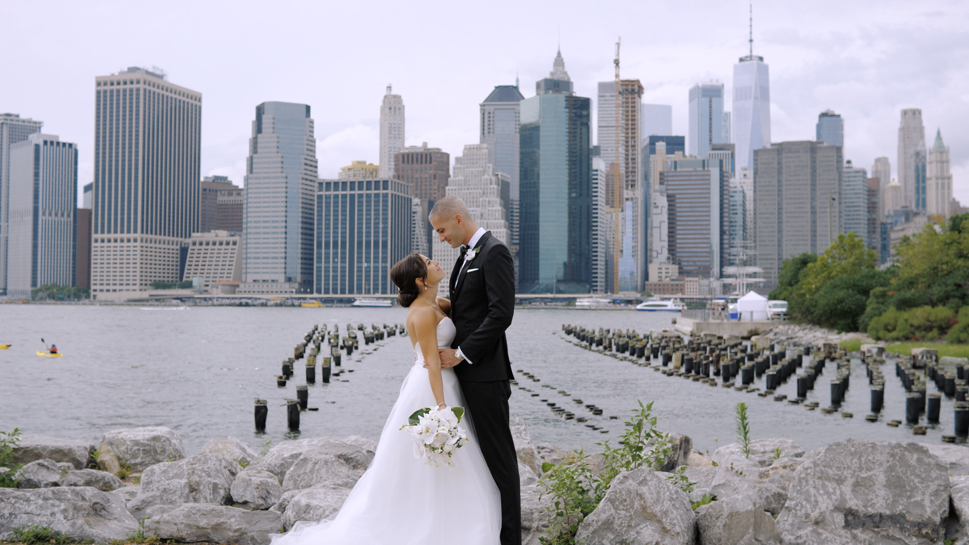 Christina + John | Brooklyn, New York | Liberty Warehouse