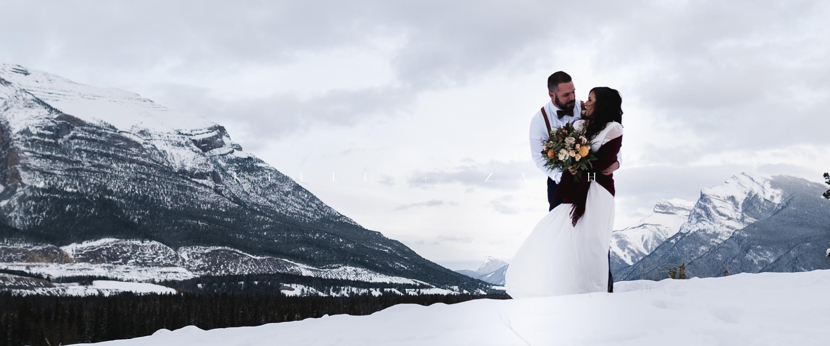 Kelli + Zach | Canmore, Canada | silvertip resort
