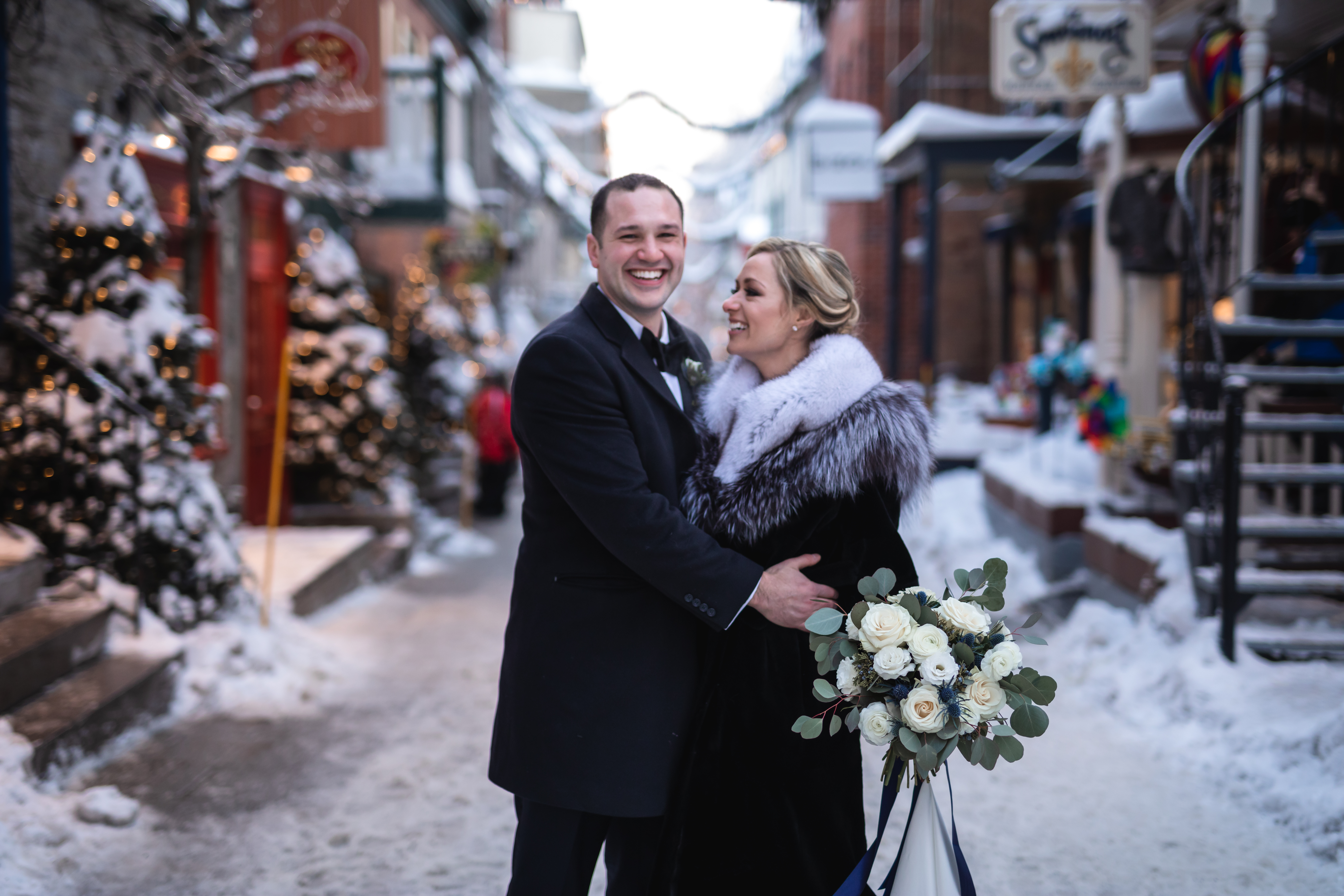Laura + Bill | Quebec City, Canada | Fairmont Quebec City