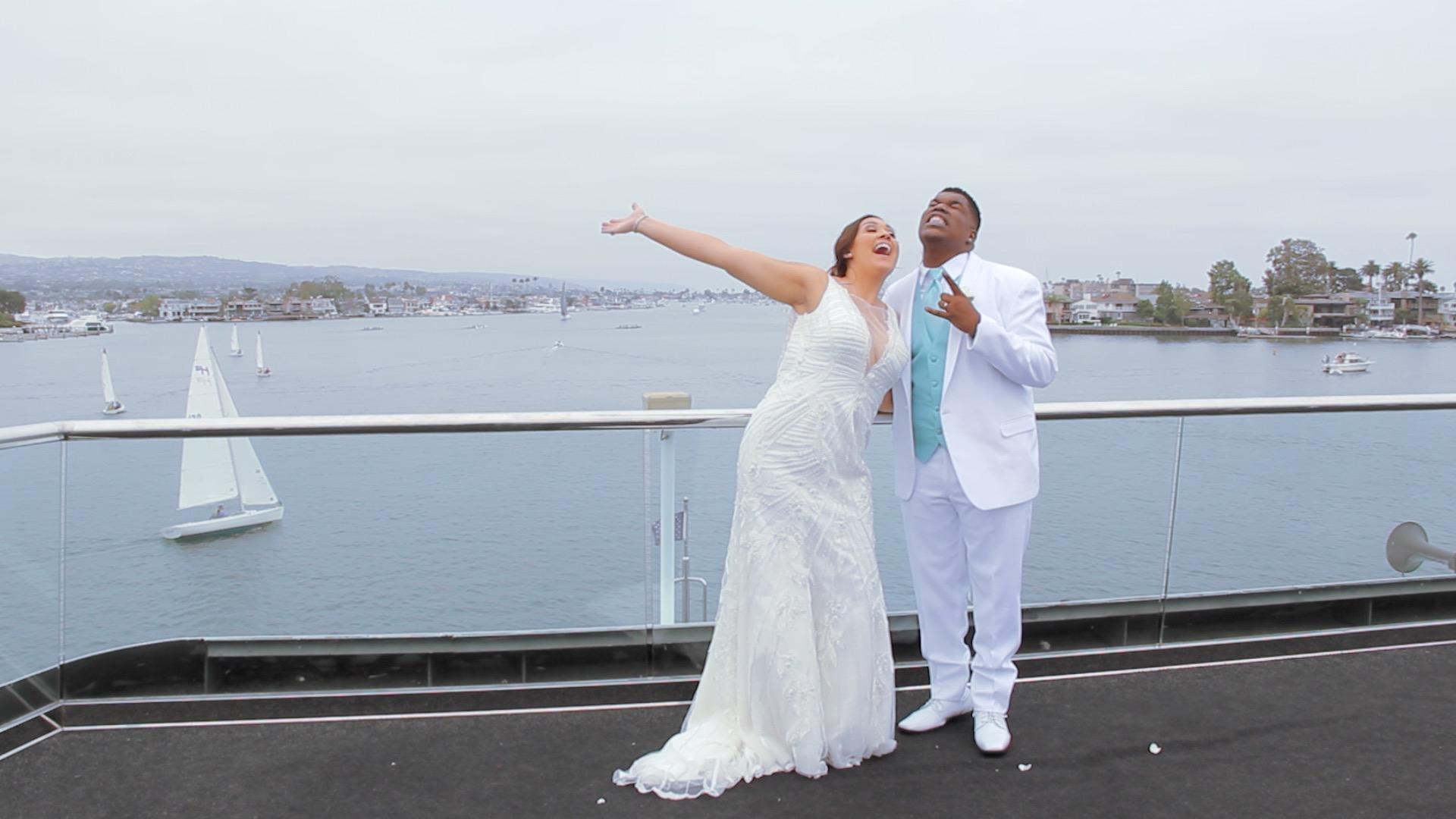 Shea + Patrick   Newport Beach, California   Electra Cruises