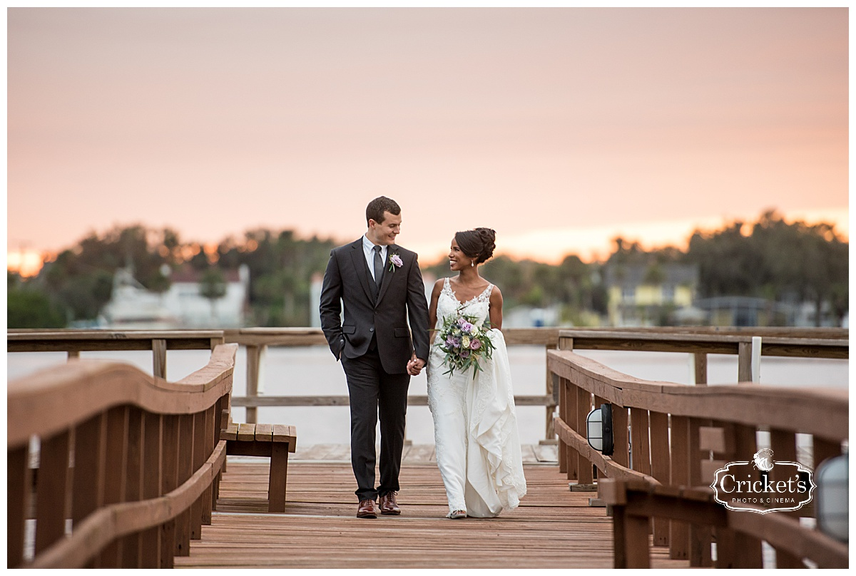 Priscell + Ryan | Daytona Beach, Florida | Sunset Riverfront Event Center