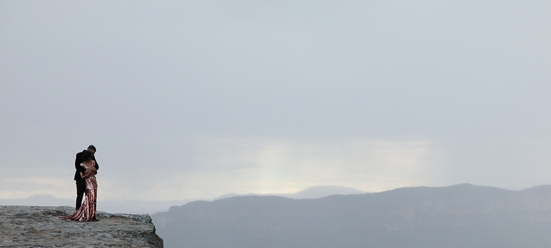 Trent + Carley | Blue Mountains National Park, Australia | the Blue Mountains