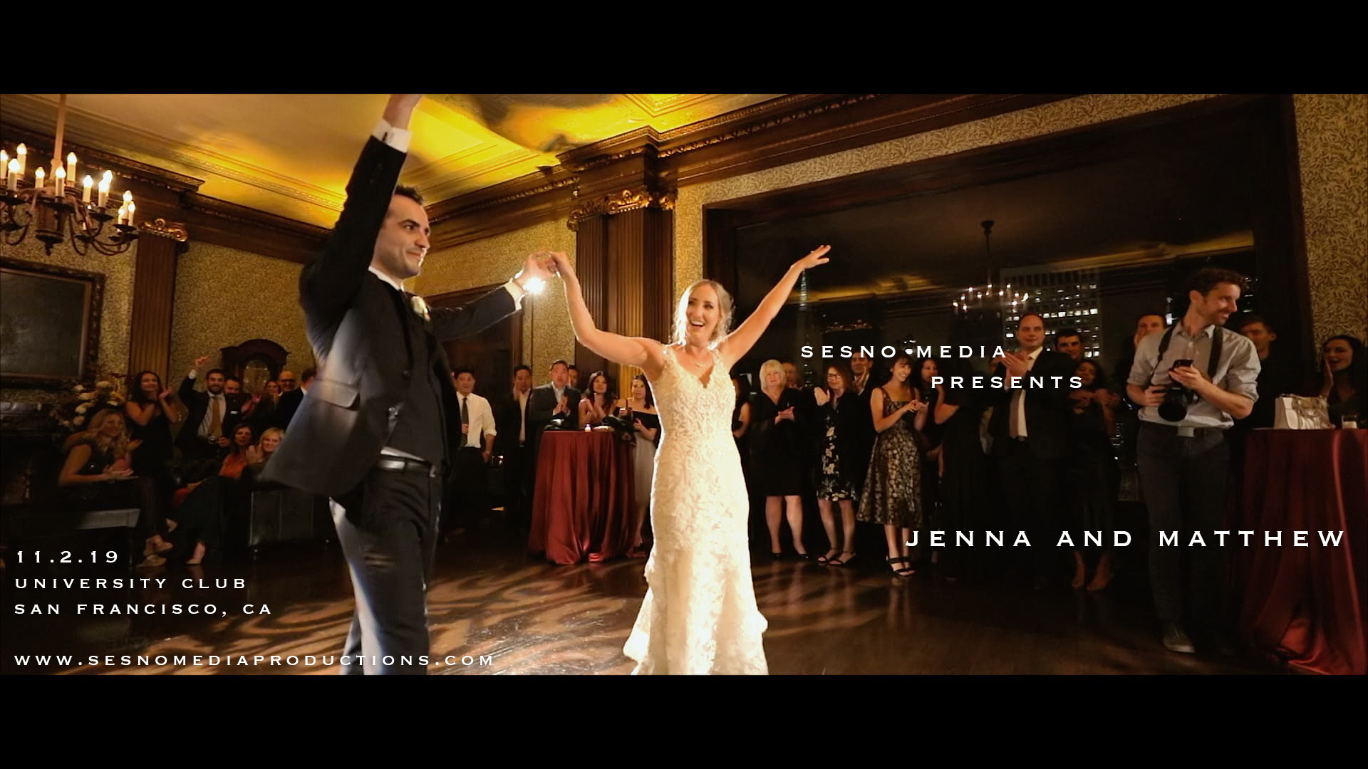 Jenna + Matthew | San Francisco, California | The University Club Of San Francisco