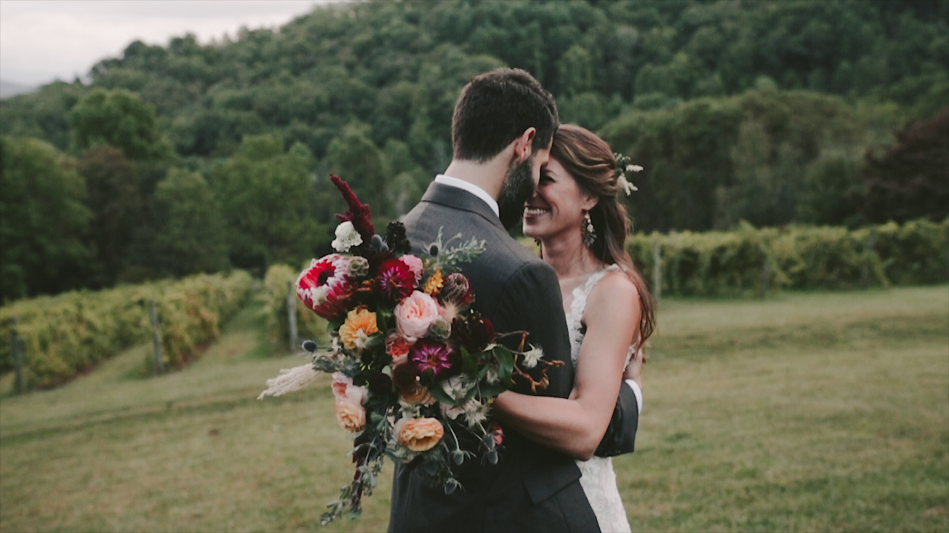 Alyssa + Zach | Sylva, North Carolina | The Vineyards at Betty's Creek