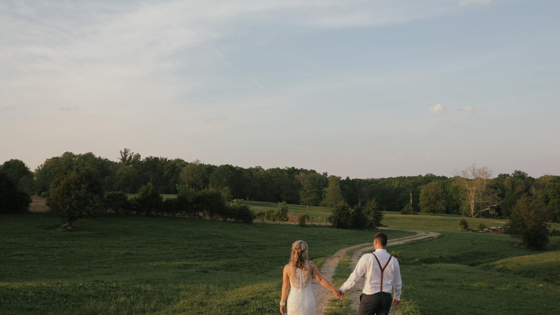 Leah + William | Bloomington, Indiana | The Barn on Maryland Ridge