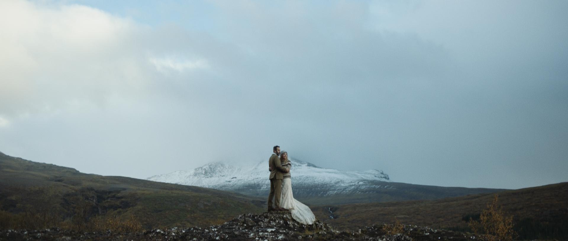 Jessica + Tim | Thingvellir, Iceland | Thorufoss