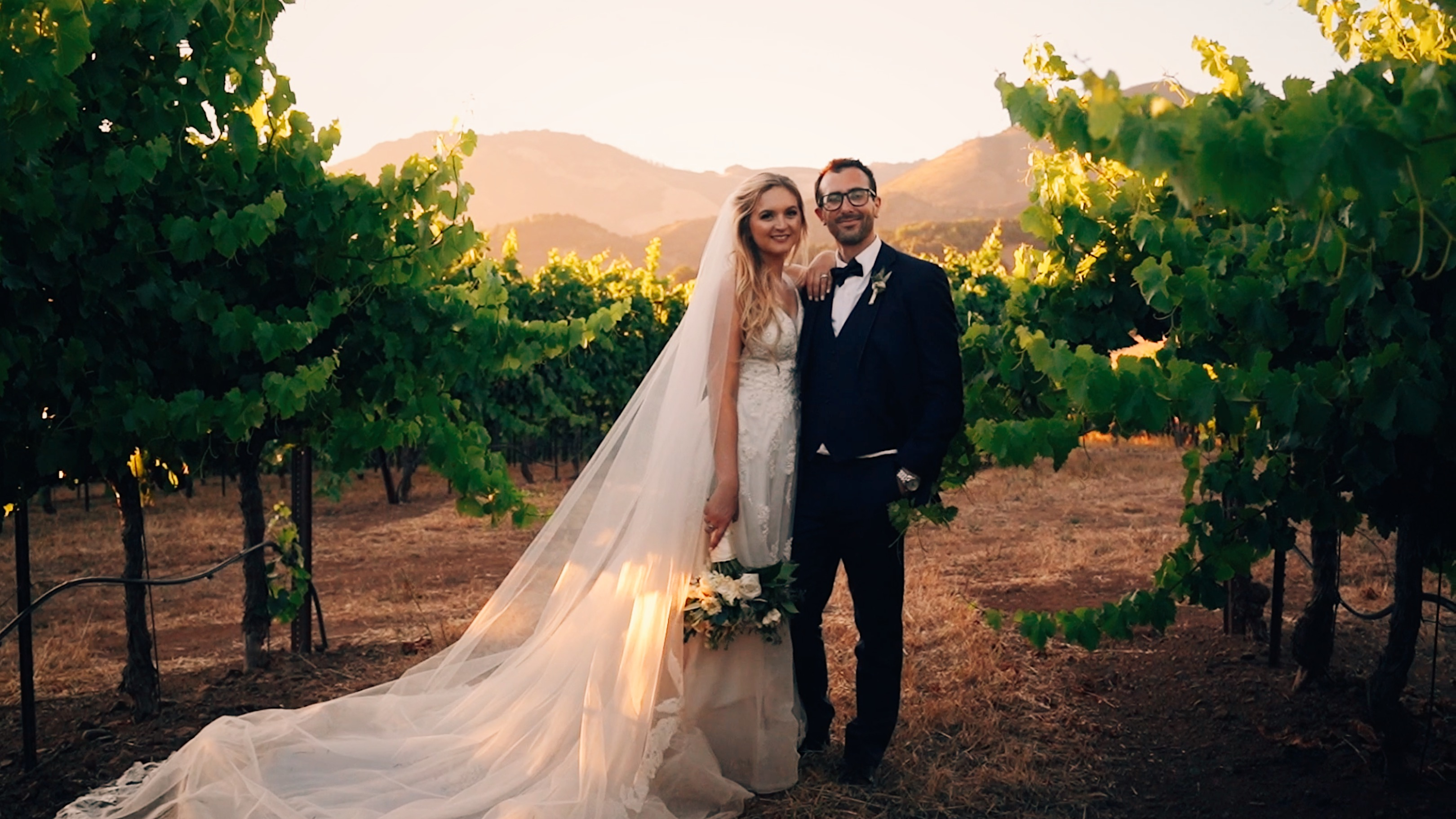 Katie + Ryan | Kenwood, California | Kunde Family Winery