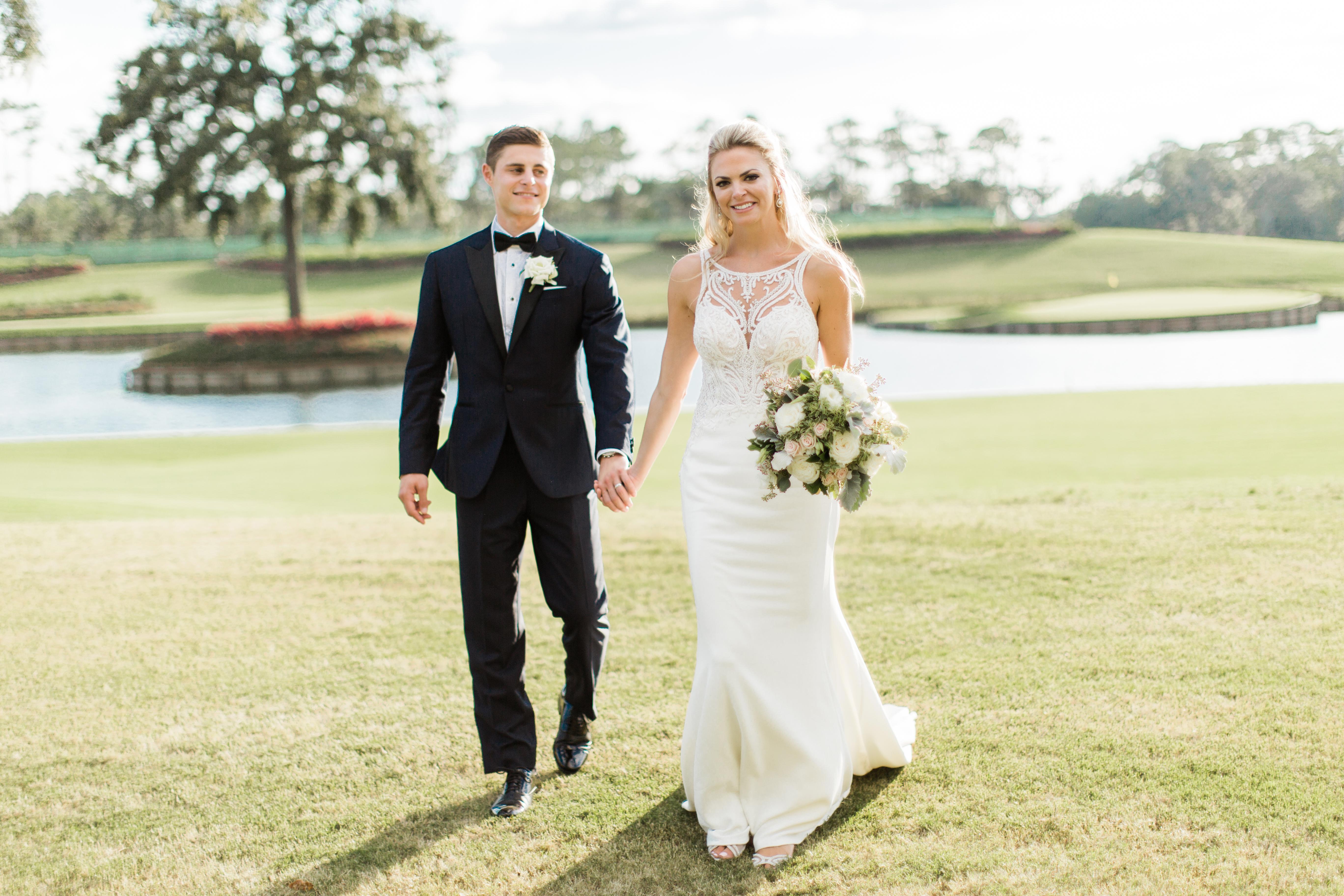 Elizabeth  + Kyle | Ponte Vedra Beach, Florida | TPC Sawgrass