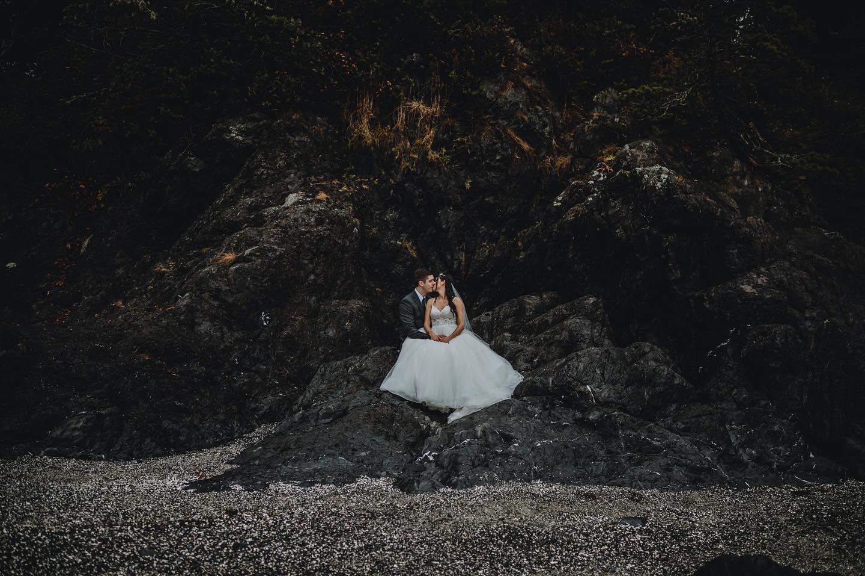 Marlee + Ben   Ucluelet, Canada   Black Rock Resort