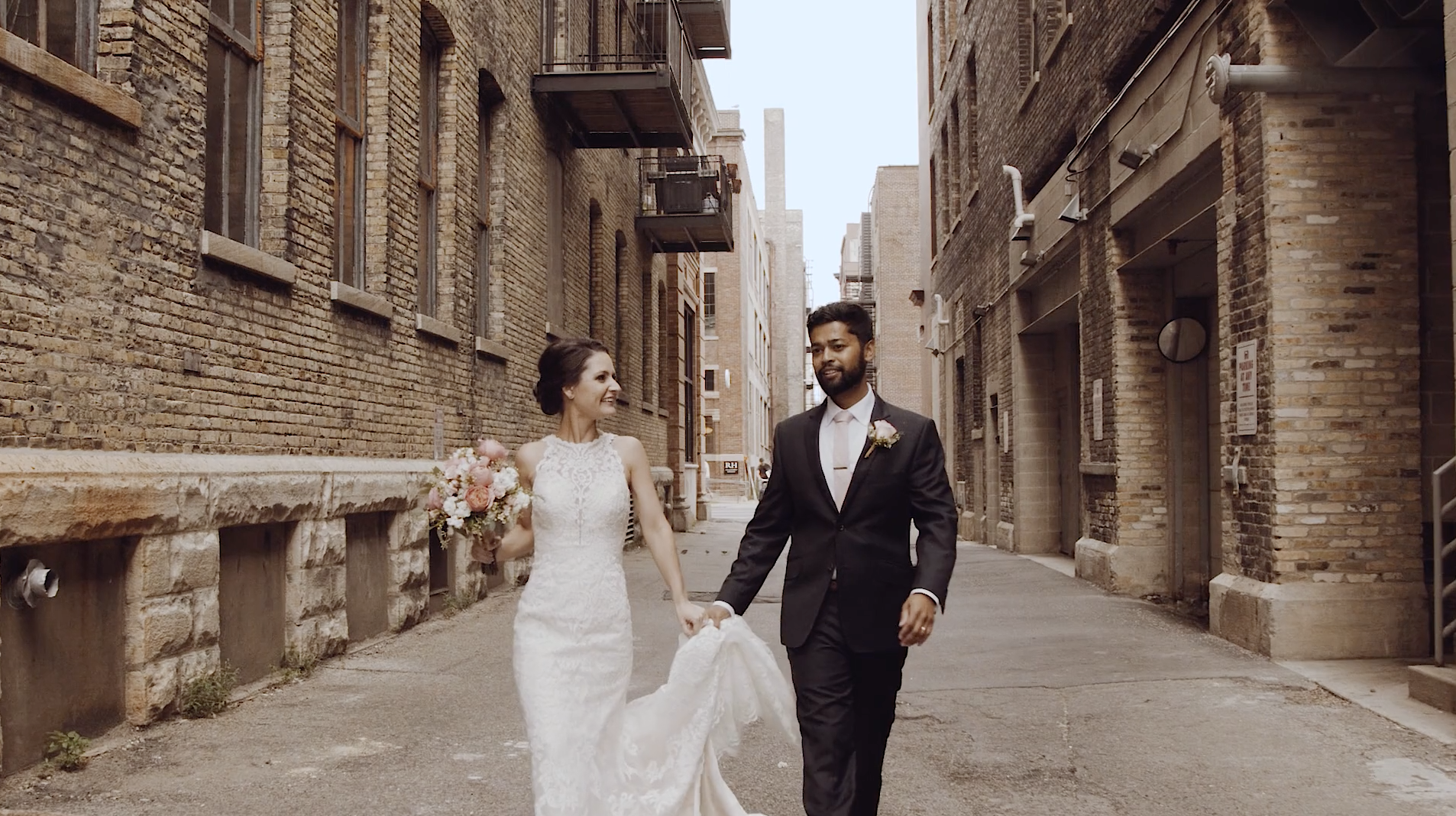 Ashley + Alwin | Milwaukee, Wisconsin | The Pfister Hotel