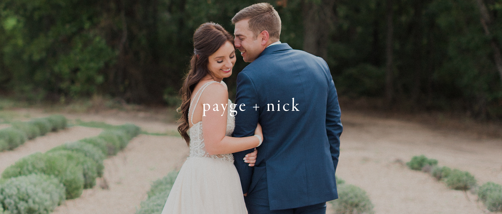 Payge + Nick | Quinlan, Texas | The White Sparrow Barn