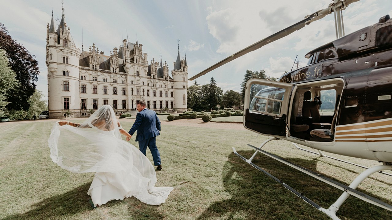 Charee  + Kirill | Paris, France | Chateau de Challain