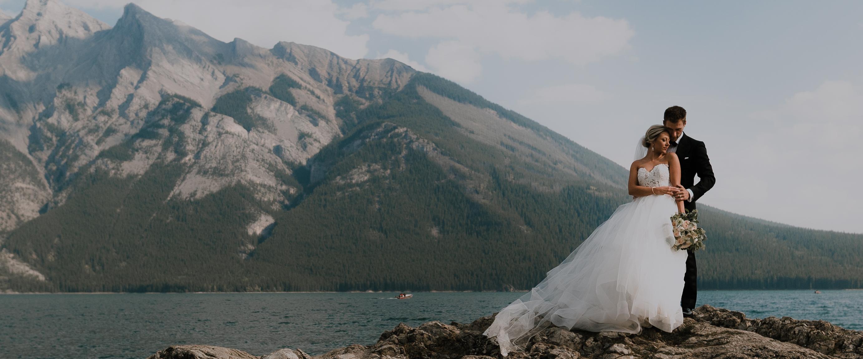 Haley + Brenden | Banff, Canada | Fairmont Banff Springs
