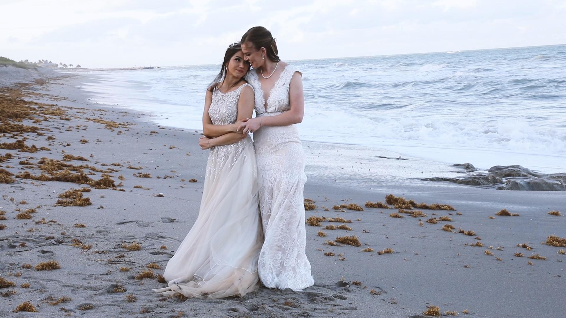 Bianca + Sarah | Jupiter, Florida | Jupiter Beach Resort & Spa