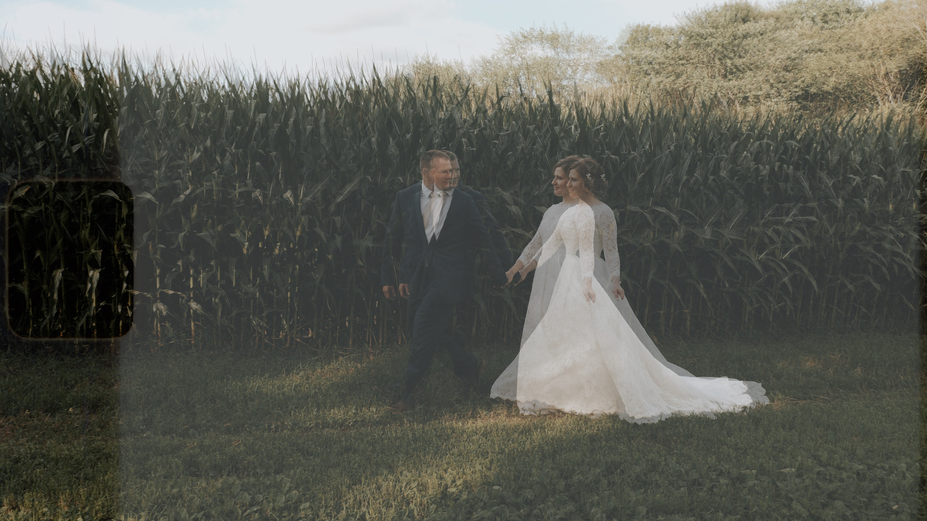 Aleana + Dustin | Osage, Iowa | Family Farm