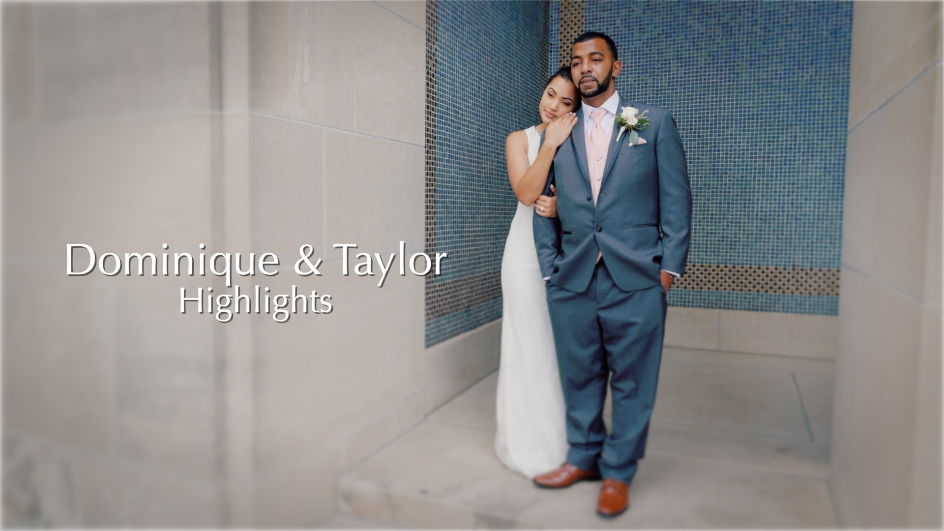 Dominique + Taylor | Kansas City, Kansas | James P Davis Hall