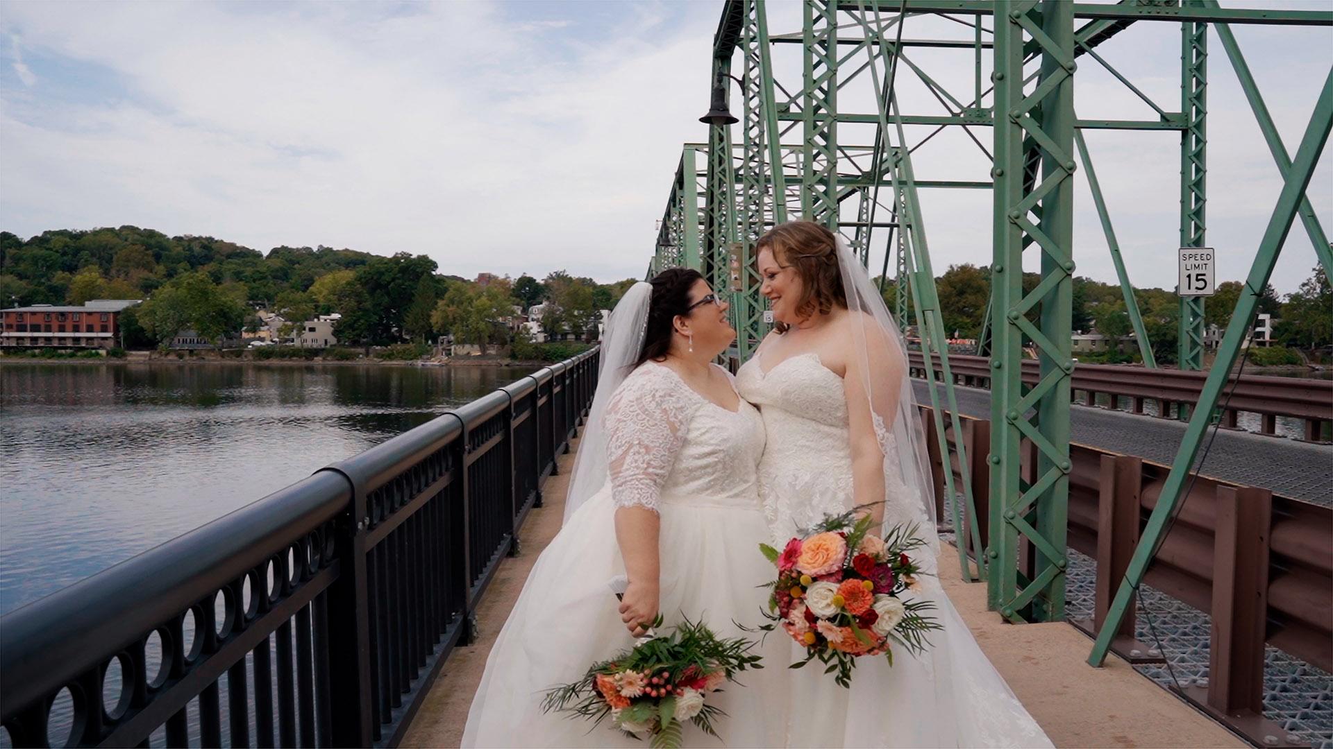 Flo + Dana | Lambertville, New Jersey | Lambertville Inn-Riverside Ballroom