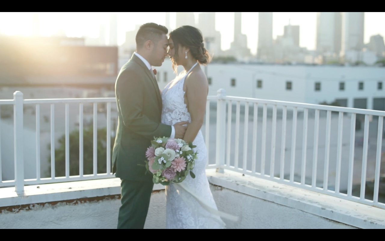 Giselle + Jeffrey | Los Angeles, California | Unique Space