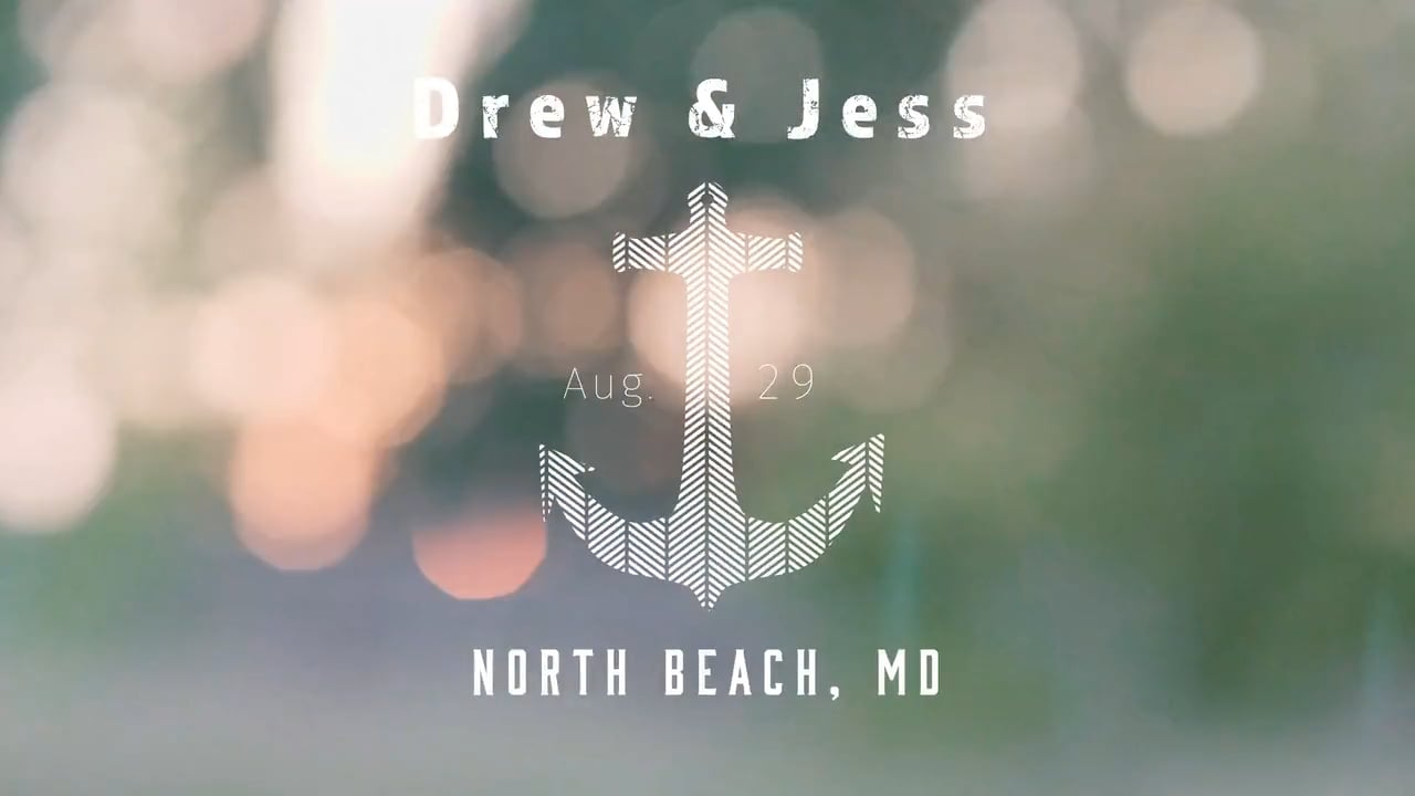 Drew + Jess | North Beach, Maryland | Herrington On The Bay