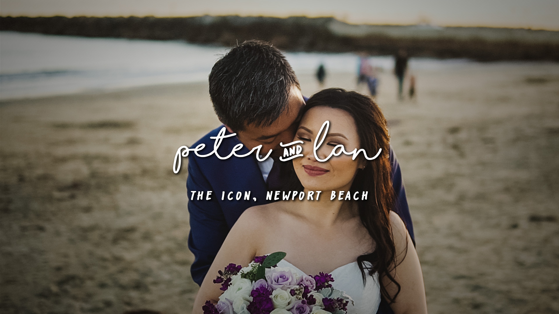 Peter + Lan | Newport Beach, California | The Icon