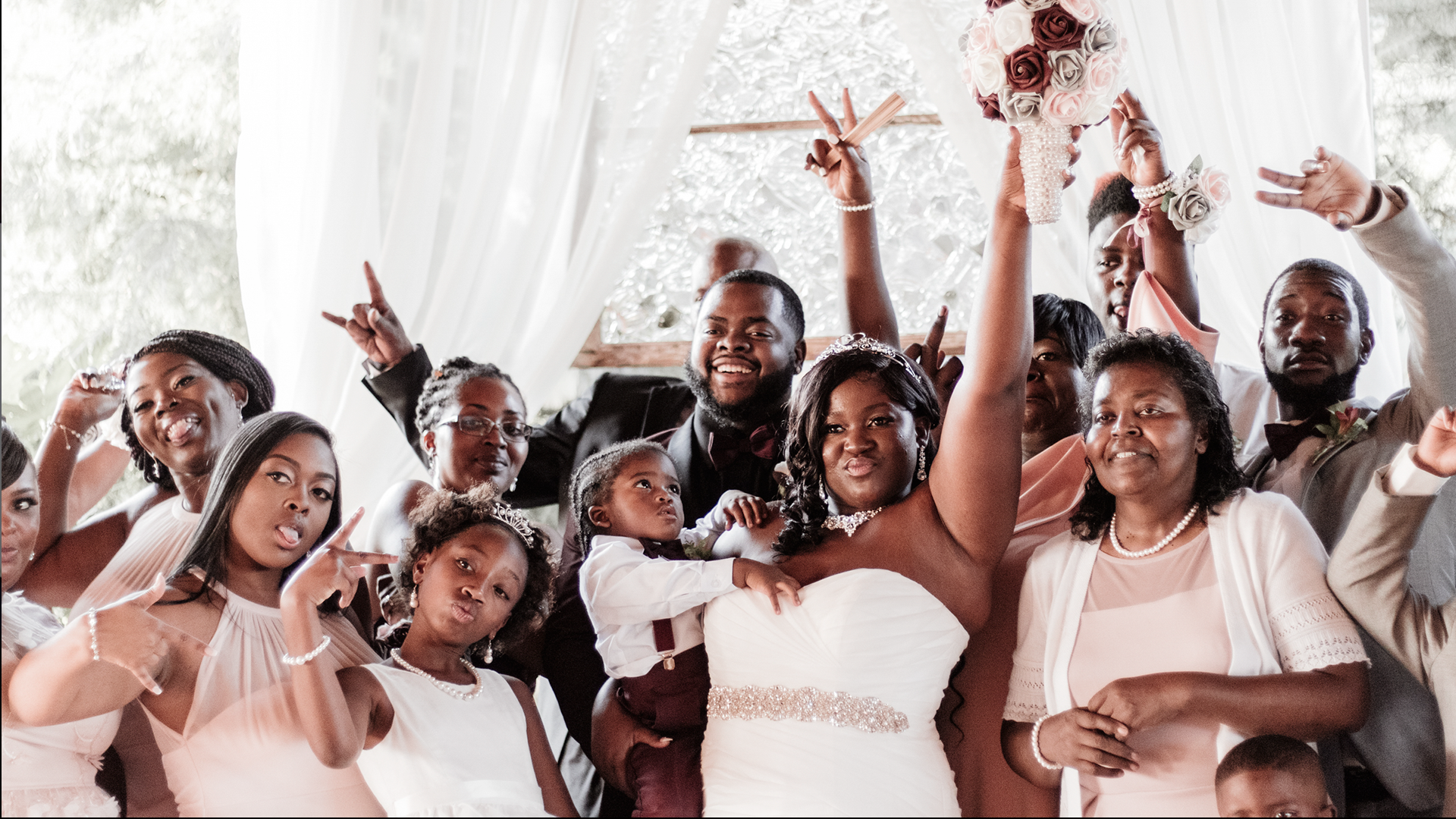 Jamal + Kendra | Shelby, North Carolina | Gingerbread House